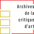 Logo des Archives de la critique d'art
