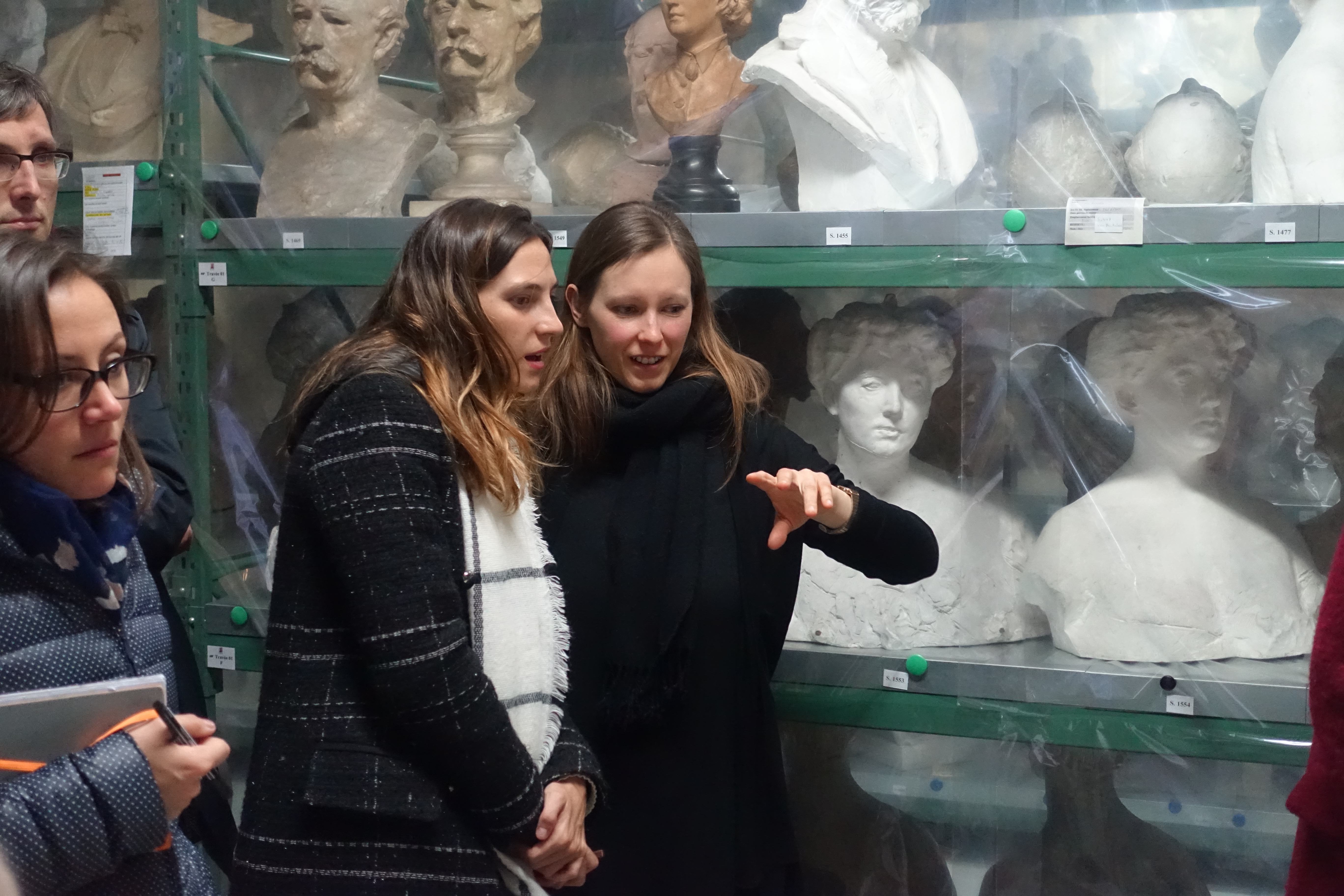 Besuch im Depot des Musée Rodin, Meudon