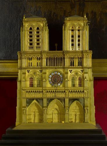 Anonyme, Pendule de Notre Dame de Paris, entre 1835 et 1845, Musée Carnavalet, Paris.
