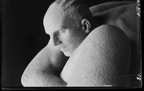 Photo sculpture of Gustav Vigeland, ©Vigeland Museet
