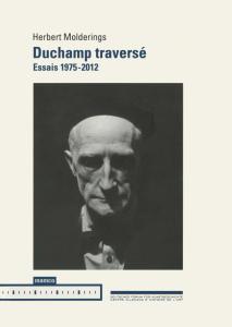 """Couverture """"Duchamp traversé"""""""
