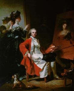 Jean-Laurent Mosnier, Self-portrait, 1786, State Hermitage, Saint Petersburg