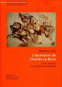 "Couverture ""L'ascension de Charles Le Brun"""