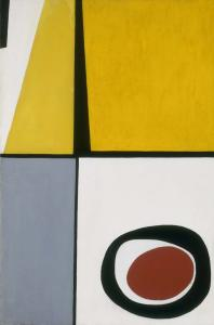 Rosalind Bengelsdorf, Abstraction, 1938, Oel auf Leinwand, 91,5 x 61 cm, Smithsonian American Art Museum, Washington DC.