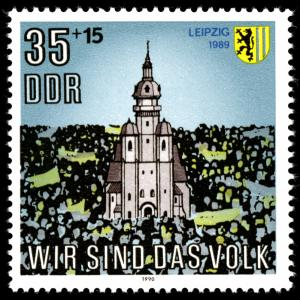 Timbre_DDR_1990